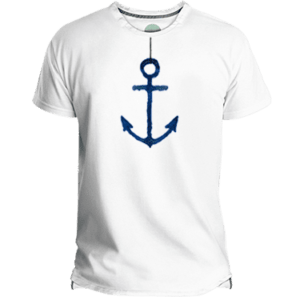 Anchor Men's T-shirt - Lefugu