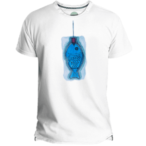Blau Fish Men's T-shirt image