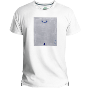 Camiseta Hombre Blue Teardrop - Lefugu