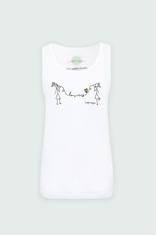 camiseta tirantes chica-chica