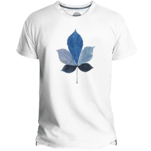 Camiseta hombre coloured leaf - Lefugu