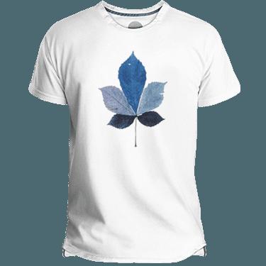 Camiseta hombre coloured leaf - Lefugu