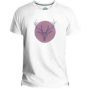 Pink Deer Men's T-shirt image