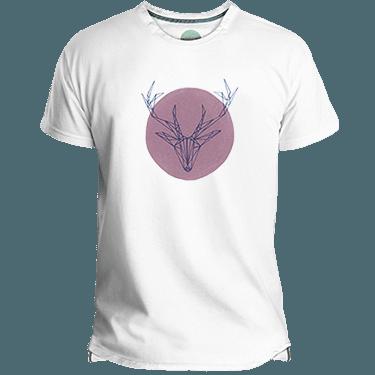 Camiseta hombre Deer Pink - Lefugu