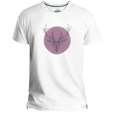 Pink Deer Men's T-shirt image