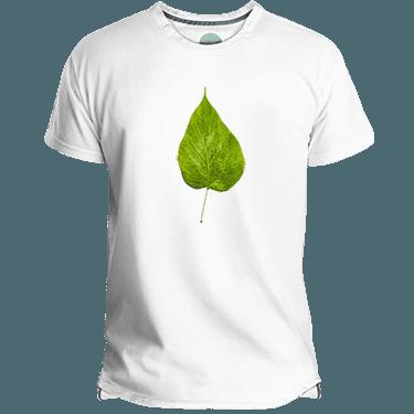 Camiseta hombre flour leaf - Lefugu