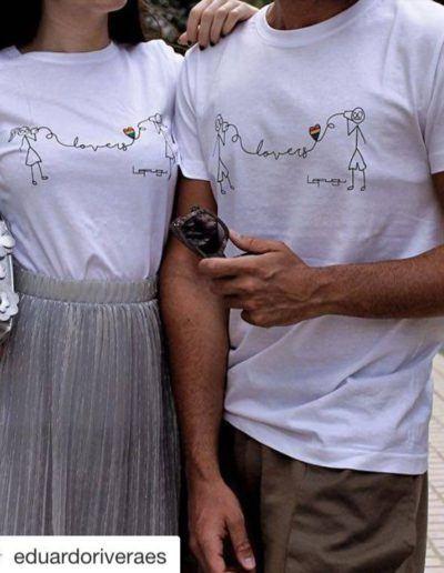 Lovers Lefugu T-shirt