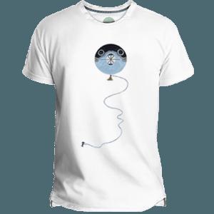 Camiseta Hombre Fugu Kite - Lefugu