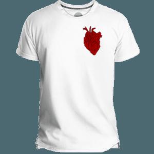 Camiseta Hombre Heart Beating - Lefugu