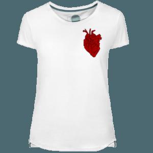 Camiseta Mujer Heart Beating