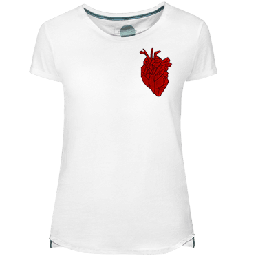 Heart Beating Women's T-shirt - Lefugu