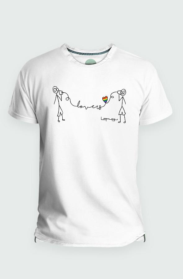 camiseta mangas chico-chico