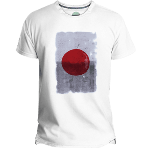 Camiseta Hombre Japan Red Dot - Lefugu