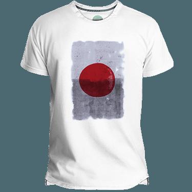Camiseta Hombre Japan Red Dot - Lefugu