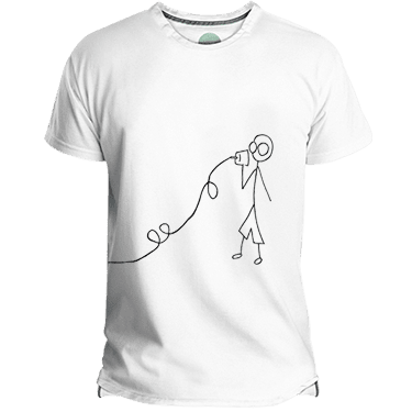 Camiseta Hombre Lovers - Lefugu
