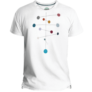 Mobile Dots Men's T-shirt image