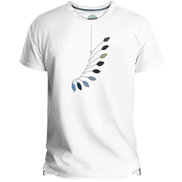 Camiseta Hombre Mobile Leaves - Lefugu