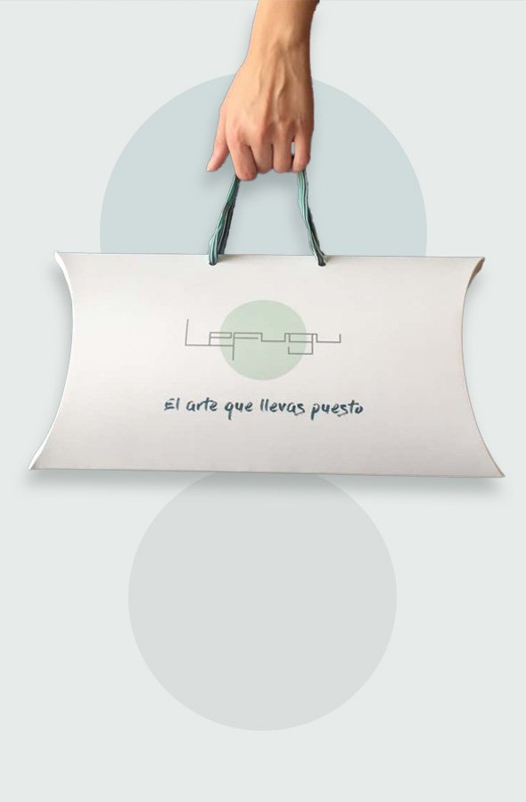 Packaging con mano LeFugu
