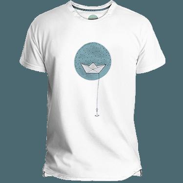Paper Boat Men's T-shirt image