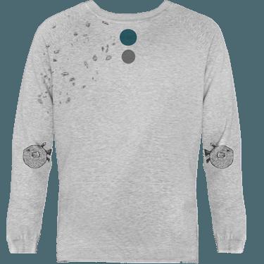 sudadera devore elbow fugu
