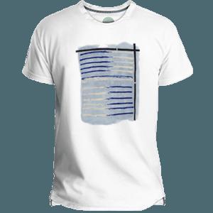 Camiseta Hombre Tela Marinera - Lefugu