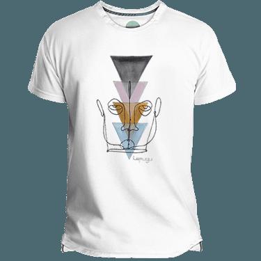 Camiseta Hombre Wired Face - Lefugu