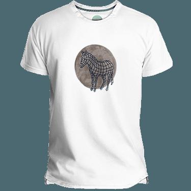 Camiseta Hombre Zebra Dot - Lefugu